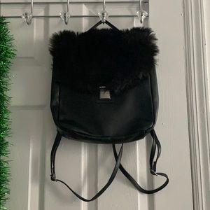 Furry backpack